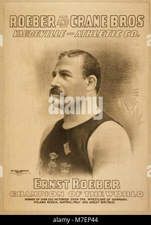 Roeber and Crane Bros Vaudeville-Athletic Co. LCCN2014635726 - Stock Photo