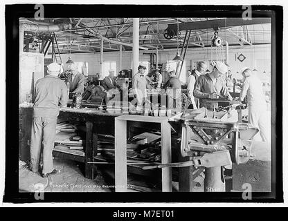 Seamen gunners class, Navy Yard, Washington, D.C. LCCN2016823099 - Stock Photo