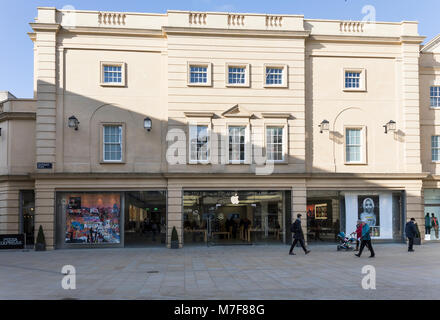 SouthGate - Apple Store, Bath, Somerset, England - Stock Photo