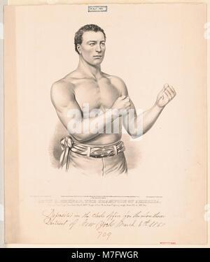 John C. Heenan, the champion of America- ('the benicia boy') LCCN2002707679 - Stock Photo