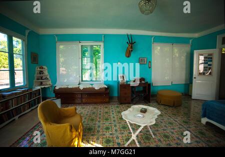 Finca Vigía, Ernest Hemingway's house in Havana, Cuba - Stock Photo