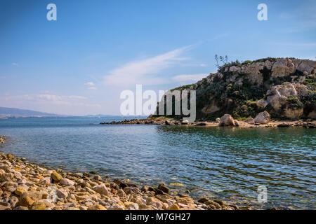 Votsalakia beach Athens, Greece - Stock Photo