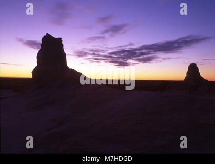 The Mungo National Park is a protected national park that is located in south-western New South Wales, in eastern Australia.
