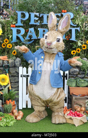 London, UK. 11th March, 2018. Peter Rabbit - UK Gala Premiere, Leicester Square, London UK, 11 March 2018, Photo - Stock Photo