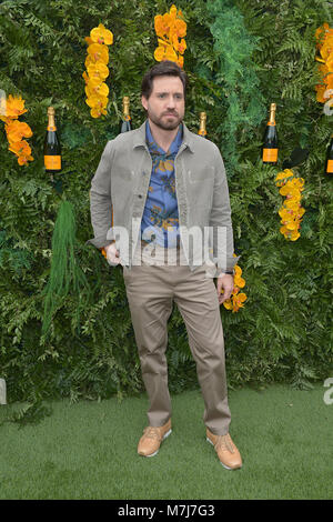 Miami, FL, USA. 10th Mar, 2018. Edgar Ramirez attends the 4th Annual Veuve Clicquot Carnaval at Museum Park on March - Stock Photo