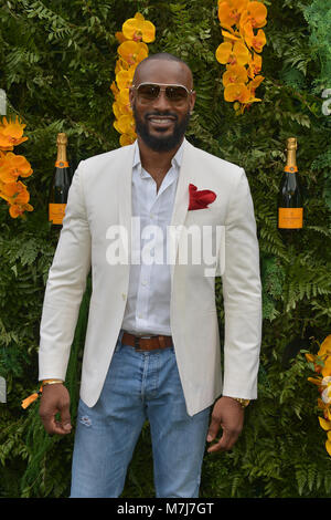 Miami, FL, USA. 10th Mar, 2018. Tyson Beckford attends the 4th Annual Veuve Clicquot Carnaval at Museum Park on - Stock Photo