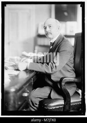SELLS, CATO. COMMR., BUREAU OF INDIAN AFFAIRS, INTERIOR DEPARTMENT LCCN2016865104 - Stock Photo