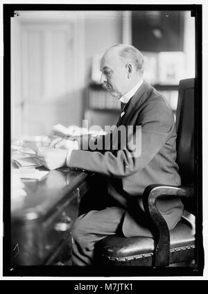 SELLS, CATO. COMMR., BUREAU OF INDIAN AFFAIRS, INTERIOR DEPARTMENT LCCN2016865105 - Stock Photo