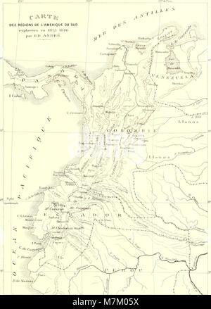 Bromeliaceae andreanae - description et histoire des broméliacées récoltées dans la Colombie, l'Ecuador et le Venezuela (1889) (20231256088) Stock Photo