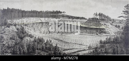 Abhandlungen zur geologischen Specialkarte von Preussen und den Thüringischen Staaten (1894) (16581133298) - Stock Photo