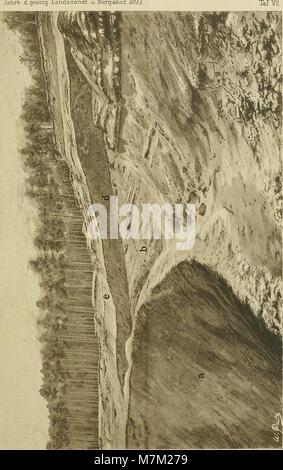 Abhandlungen zur geologischen Specialkarte von Preussen und den Thüringischen Staaten (1894) (16581313400) - Stock Photo