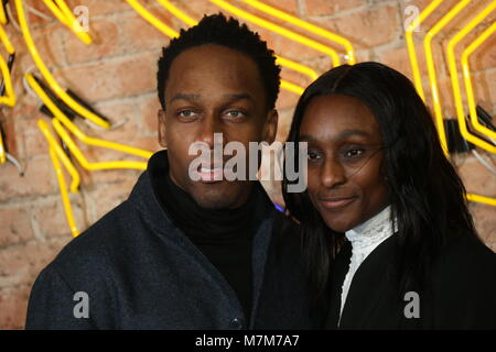 'Black Panther' European Premiere - Arrivals  Featuring: Lemar Where: London, United Kingdom When: 08 Feb 2018 Credit: - Stock Photo