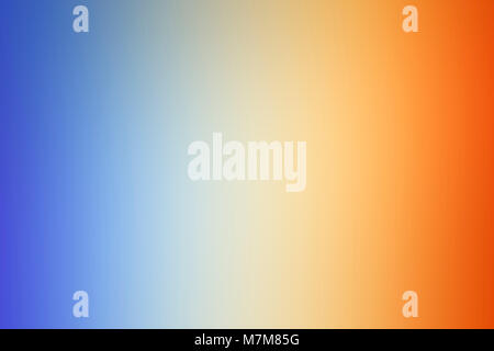 Abstract composition from a colourful spectrum cast on a white wall by sunlight refracted through a glass mirror - Stock Photo