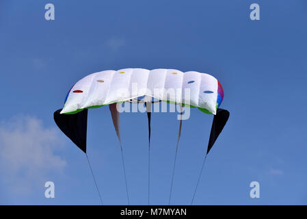 Kite flying during carnival festival in Athens, Greece - Stock Photo