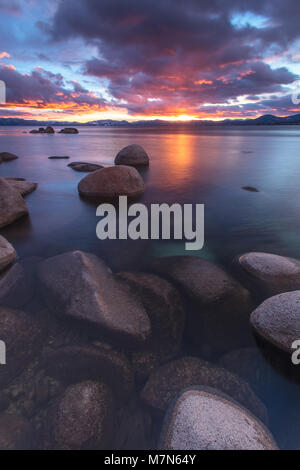Beautiful North Lake Tahoe - Stock Photo