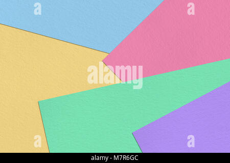 Pastel colorful paper sheet background - Stock Photo