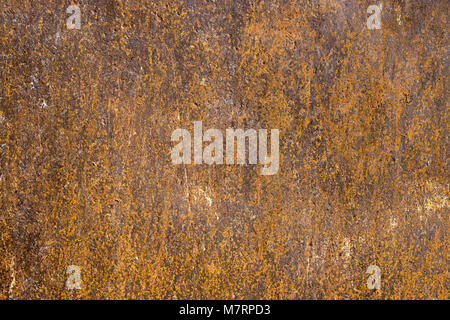 Rusty and corroded metal surface. Grungy texture and background. - Stock Photo