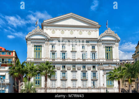Opera house in city of Nice, France. - Stock Photo