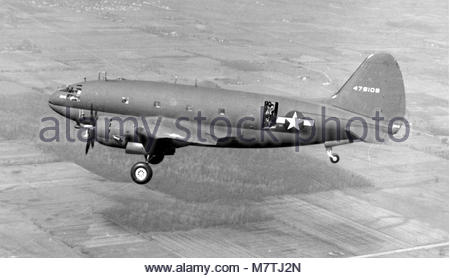 Curtiss C-46D-15-CU Commando (sn  44-78109). - Stock Photo