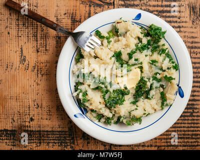 Freshly made colcannon - Stock Photo