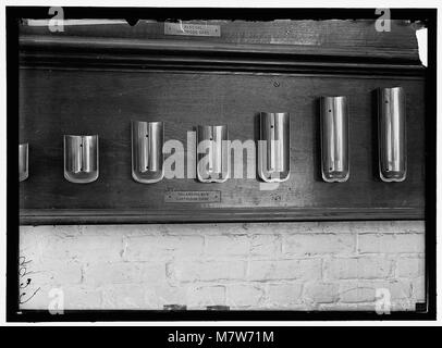 NAVY YARD, U.S., WASHINGTON. CAPS., TORPEDO SHOP LCCN2016868691 - Stock Photo