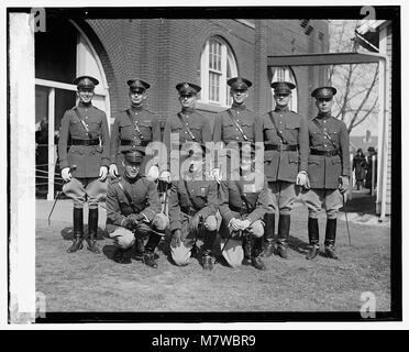 Olympic Cavalry team, 3-6-24 LOC npcc.10702 - Stock Photo