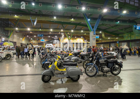Retro Málaga 2018.Trade Fairs and Congress Center of Malaga, Andalusia, Spain. - Stock Photo