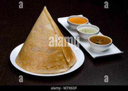 Masala Dosa - Stock Photo