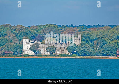 Southampton Water, Netley Abbey, Hampshire, England, - Stock Photo