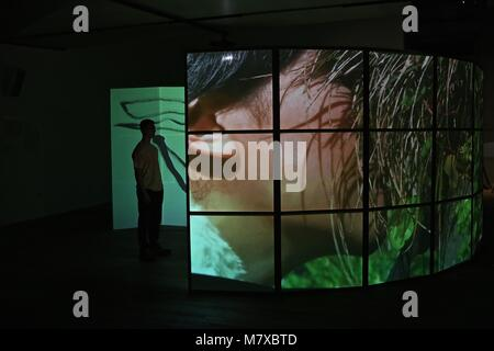BMW TATE LIVE EXHIBITION 2018 ... - Stock Photo