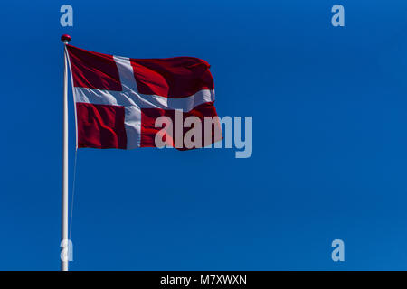 Bornholm is a small Danish island in the Baltic sea east of Sweden - Stock Photo