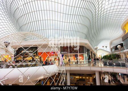 Inside the Chadstone Shopping Centre. - Stock Photo