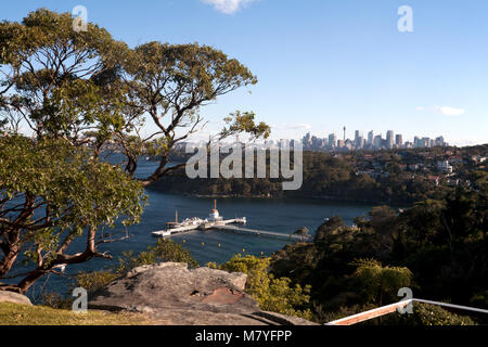 georges head headland park mosman sydney new south wales australia - Stock Photo
