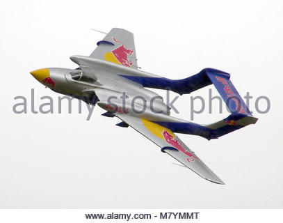 de Havilland dH-110 Sea Vixen D3. de Havilland dH-110 Sea Vixen D3, formerly of the Royal Navy as XP924, now on - Stock Photo