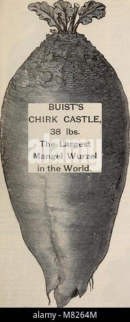 Buist's garden guide and almanac - 1898 (1898) (20382443828) - Stock Photo