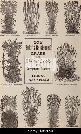 Buist's garden guide and almanac - 1898 (1898) (20577520081) - Stock Photo