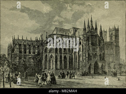 Cathedrals, abbeys and churches of England and Wales, descriptive, historical, pictorial (1896) (14587328447) - Stock Photo
