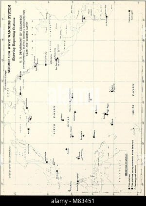 Collected reprints, Essa Institute for Oceanography (1966) (20478350020) - Stock Photo
