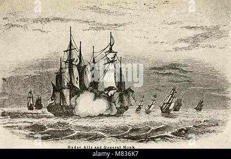 Commodore Joshua Barney- many interesting facts connected with the life of Commodore Joshua Barney, hero of the - Stock Photo