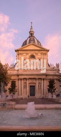 Place de la Sorbonne, Paris, France - Stock Photo