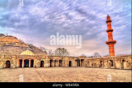Bharat Mata temple at Daulatabad Fort in Maharashtra, India - Stock Photo