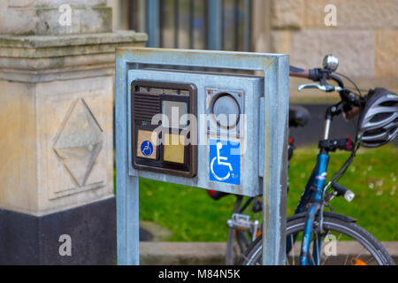 Special means of communication to help people with disabilities Horizontal - Stock Photo