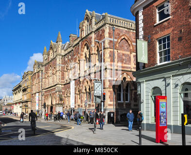 Royal Albert Memorial Museum and Art Gallery, Queen Street, Exeter, Devon, England, UK - Stock Photo