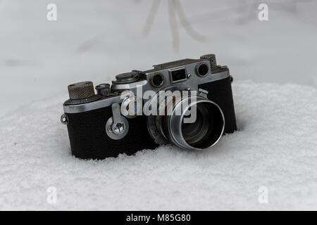 Alte Deutsche Analogkamera - Stock Photo