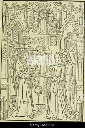 Débuts de l'imprimerie en France - l'Imprimerie nationale, l'Hôtel de Rohan (1905) (14594501479) - Stock Photo