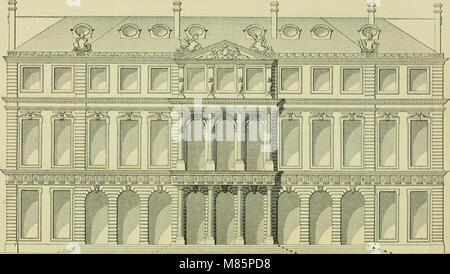 Débuts de l'imprimerie en France - l'Imprimerie nationale, l'Hôtel de Rohan (1905) (14758253316) - Stock Photo