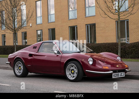 March  Jh Cl Ics  Gts Replica Of The  Ferrari Dino Stock Photo