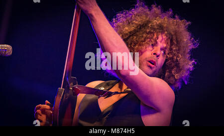 Heavy Rock band Playing at Victorious Festival 2016, Southsea, Hampshire - Stock Photo