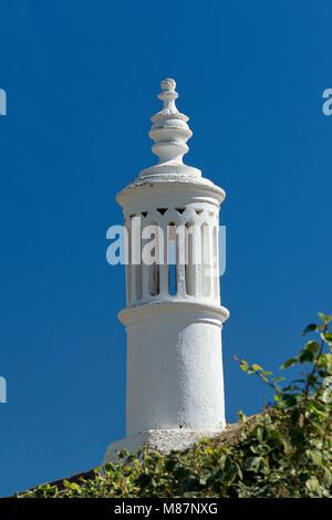 A traditional Algarve chimney near Silves, Algarve, Portugal - Stock Photo