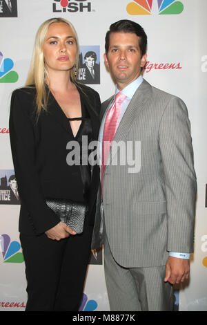 New York, NY, USA. 19th May, 2018. Vanessa Trump and Donald Trump Jr. at the 'All Star Celebrity Apprentice' Finale - Stock Photo